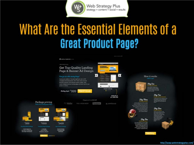 What Are the Essential Elements of a Great Product Page? by Michelle Hummel
