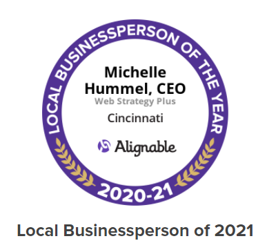 Michelle Hummel, Founder of Social Media Enthusiasts, Named Alignable's 2021 Local Business Person Of The Year